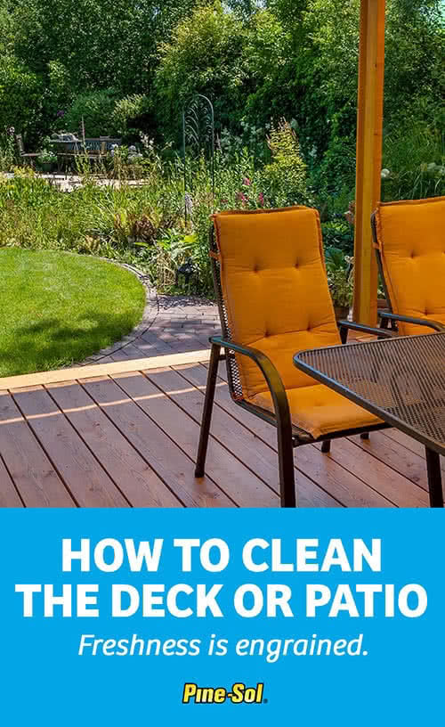 How To Clean A Deck Pine Sol 174