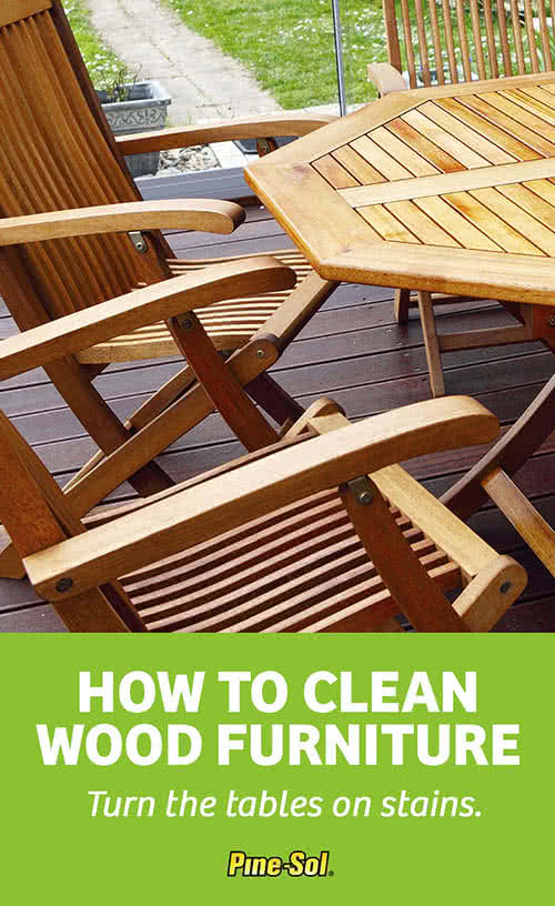 How To Clean Wood Furniture Pine Sol 174
