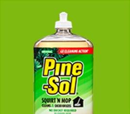 Floor Cleaner Pine Sol 174 Original Squirt N Mop