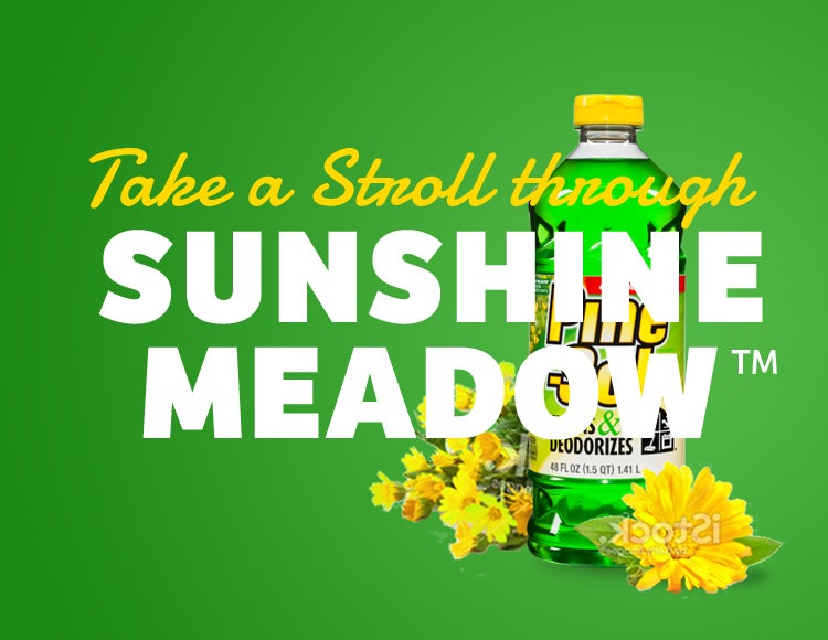 Our cleaner delivers all the power of Pine-Sol, and leaves behind the fresh scent of the great outdoors.