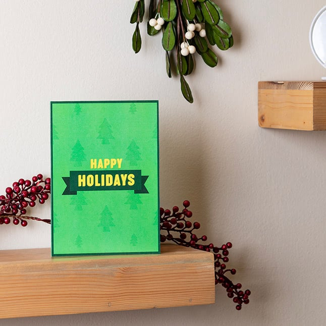 'Smells Like The Holidays' Cards